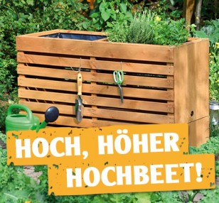 gartenaktuell urban gardening bei hornbach. Black Bedroom Furniture Sets. Home Design Ideas