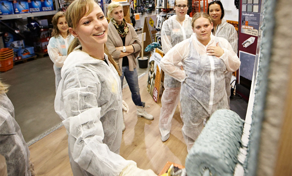Women at work im HORNBACH Markt