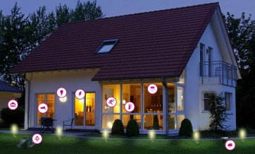 Smart Home - intelligente Haussteuerung