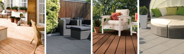 das richtige material f r die terrasse finden von hornbach. Black Bedroom Furniture Sets. Home Design Ideas