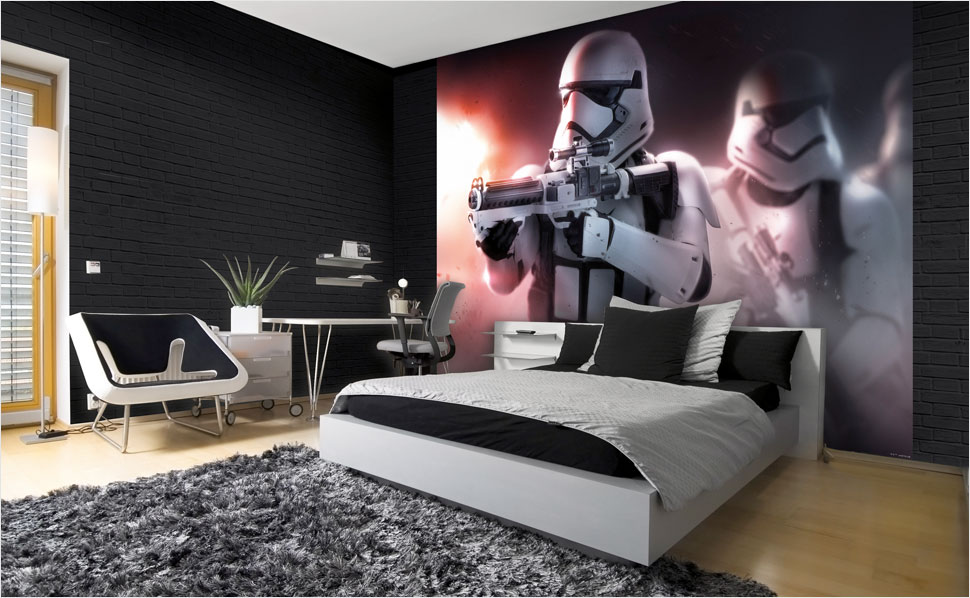 inspiration star wars fototapeten bei hornbach. Black Bedroom Furniture Sets. Home Design Ideas