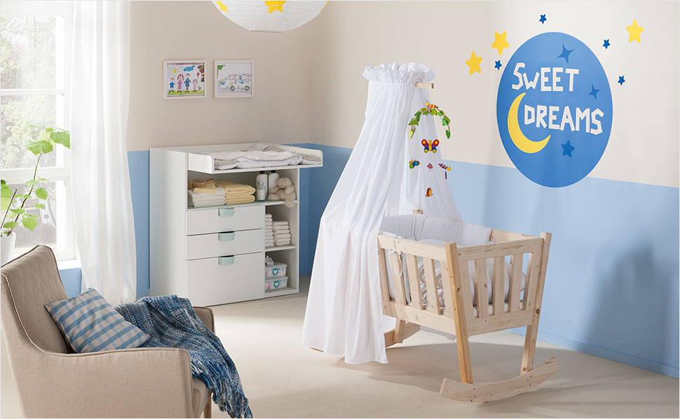 babyzimmer gestalten mit hornbach. Black Bedroom Furniture Sets. Home Design Ideas