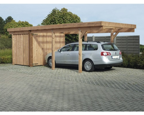 carport gera 2 mit aluminium dach douglasie jetzt kaufen bei hornbach sterreich. Black Bedroom Furniture Sets. Home Design Ideas