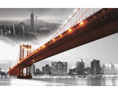 keilrahmenbild brooklyn bridge 100x150 cm jetzt kaufen bei hornbach sterreich. Black Bedroom Furniture Sets. Home Design Ideas
