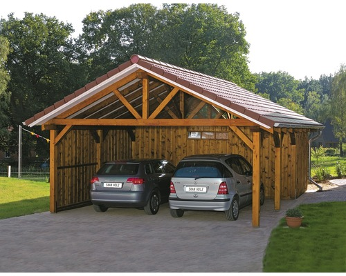 Carports hornbach interior design und m bel ideen for Carport angebote baumarkt