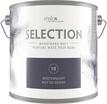 Wandfarbe StyleColor SELECTION Wüstennacht 2,5 l