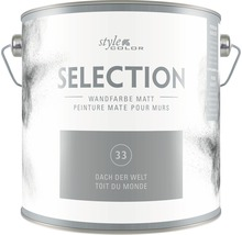 Wandfarbe StyleColor SELECTION Dach der Welt 2,5 l