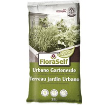 Urbano-Erde FloraSelf Nature mit Mykorrhiza, 35 L