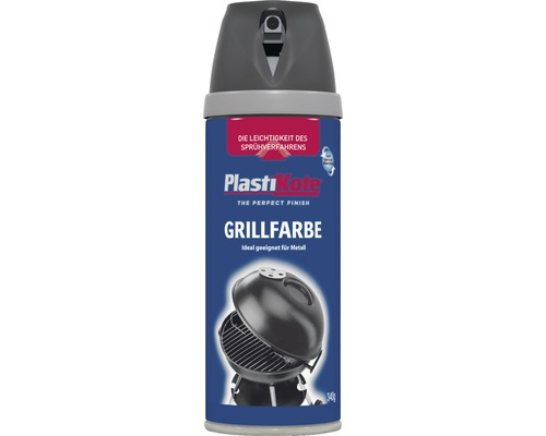 grillfarbe spray premium plastikote schwarz 400 ml jetzt kaufen bei hornbach sterreich. Black Bedroom Furniture Sets. Home Design Ideas