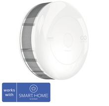 Fibaro CO Melder SMART HOME by hornbach weiß Ø 65 H 28 mm