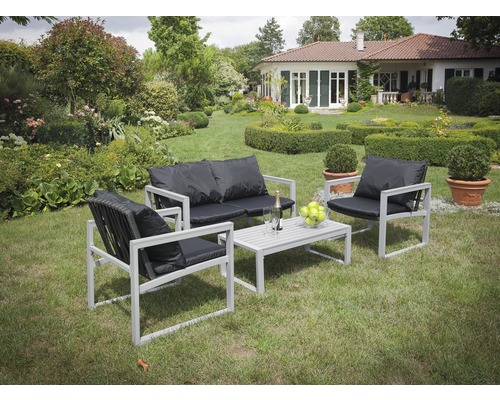 gartenm belset alu rattan 1 tisch 2 sessel jetzt kaufen. Black Bedroom Furniture Sets. Home Design Ideas