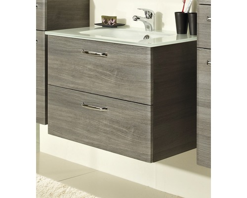 waschtischunterschrank pelipal alika 53x73x44 cm graphit mit 2 schubk sten jetzt kaufen bei. Black Bedroom Furniture Sets. Home Design Ideas