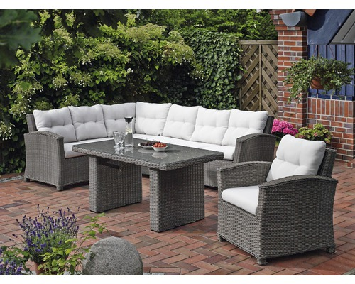 gartenm bel set destiny riviera polyrattan 3teilig grau jetzt kaufen bei hornbach sterreich. Black Bedroom Furniture Sets. Home Design Ideas