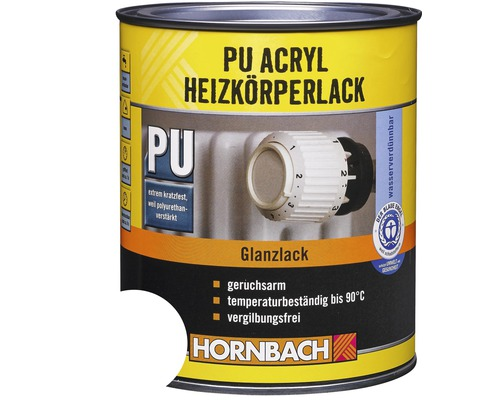 pu acryl heizk rperlack gl nzend wei 750 ml jetzt kaufen bei hornbach sterreich. Black Bedroom Furniture Sets. Home Design Ideas