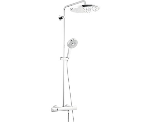 Duschsystem Grohe Rainshower® System 310 27968000 mit Thermostat chrom