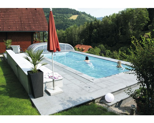 kwad pool deluxe 7 0x3 5x1 5m mit ecktreppe jetzt kaufen. Black Bedroom Furniture Sets. Home Design Ideas