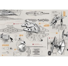 Fototapete Disney Edition 2 STAR WARS BLUEPRINTS 368 x 254 cm
