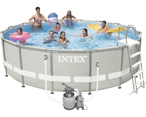 Intex frame pool set 549 x 132cm jetzt kaufen bei hornbach for Hornbach pool set