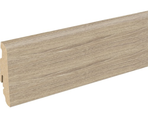 Sockelleiste FU60L Whitewashed Oak 19x58x2400 mm